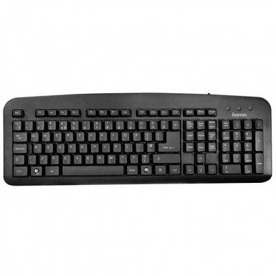 Клавиатура  Hama К 212 Черен