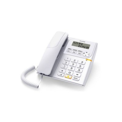 Телефон Alcatel T58 Бял