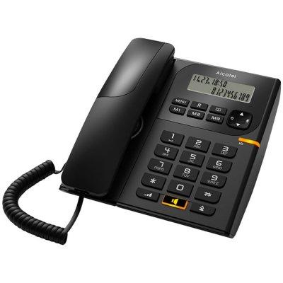 Телефон Alcatel T58 Черен