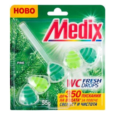 Ароматизатор WC Medix 5 топчета Pine 55g