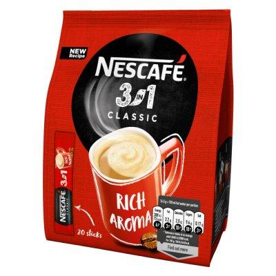 Нескафе Nescafe 3 in 1 Classic плик 16.5 g