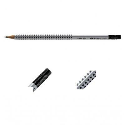 Молив с гума Faber-Castell Grip 2001 B