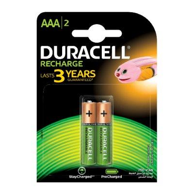 Акумулатрна батерия Duracell AAA 750 mAh 2 бр.