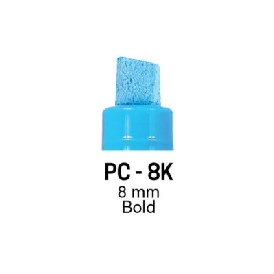Маркер Uni PC-8K 8 mm Флуоресцентно розов