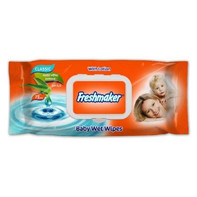 Мокри кърпи Freshmaker с капак 72 бр.