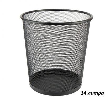 Кошче метална мрежа Axent Черен
