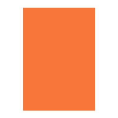 Картон Papicolor A4 270 g/m2 10 л. Оранжев