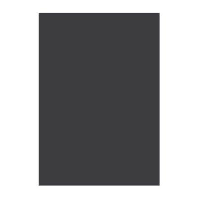 Картон Papicolor A4 270 g/m2 10 л. Черен