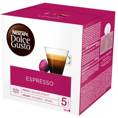 Кафе капсула Nescafe Dolce Gusto Espresso 16 бр.