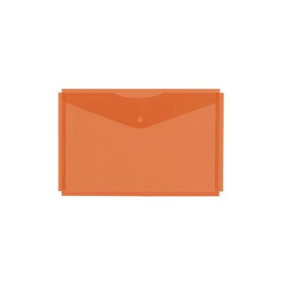 Папка с копче А4+ с уширение Оранжева