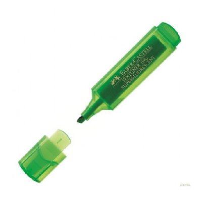 Текстмаркер Faber-Castell 1546 Зелен неон