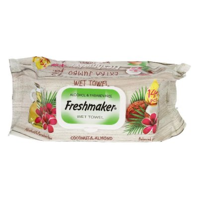 Мокри кърпи Freshmaker с капак 144 бр.
