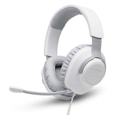 Слушалки с микрофон JBL Quantum 100 Бели