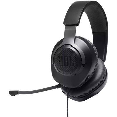 Слушалки с микрофон JBL Quantum 100 Черни