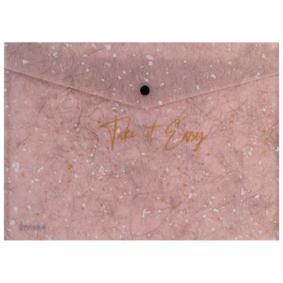 Папка джоб с копче Axent А5 Shade Розов