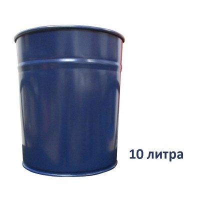 Метално кошче Mas 850 неперфорирано 10 l Син