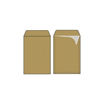 Плик кафяв М5/C13 с мехурчета 170х225 mm стикер