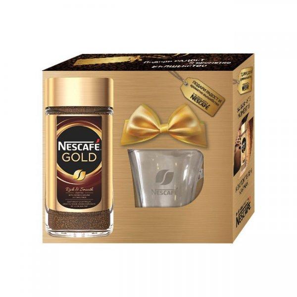 Комплект нескафе Nescafe Gold 200 g с чаша