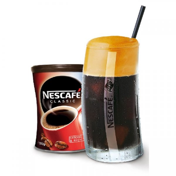 Нескафе Nescafe Classic, 250 с чаша за фрапе