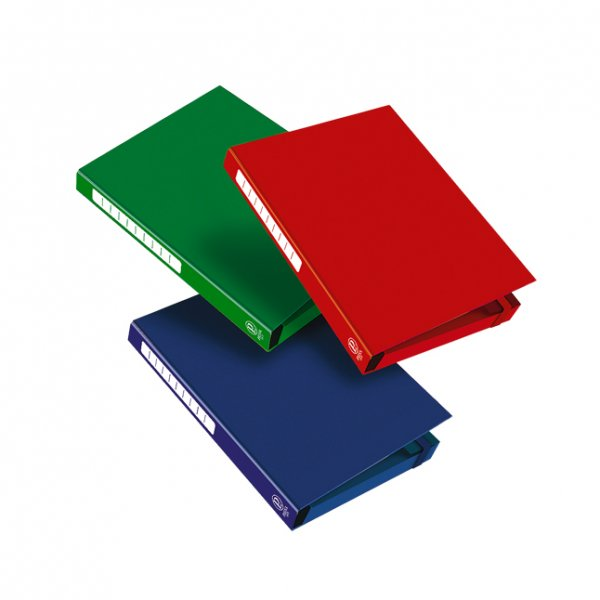 Кутия с ластик Pigna Monocromo 3 cm Син