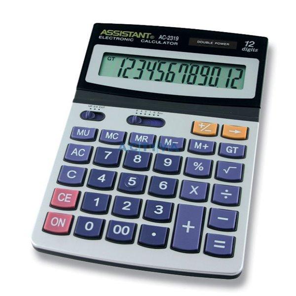 Настолен калкулатор Assistant AC 2319