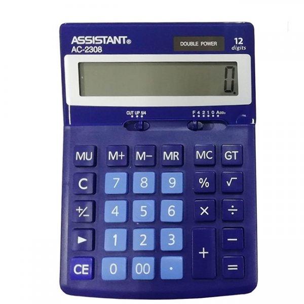 Настолен калкулатор Assistant AC 2308