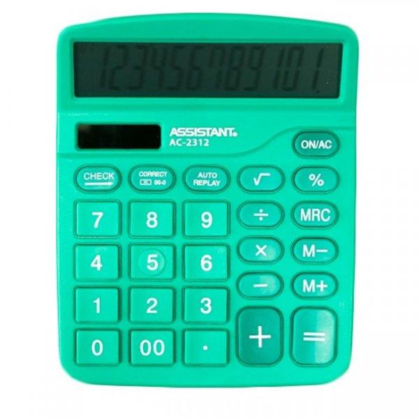 Настолен калкулатор Assistant AC 2312 Зелен