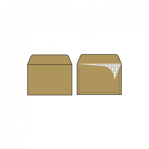 Плик кафяв за CD с мехурчета 200х175 mm стикер