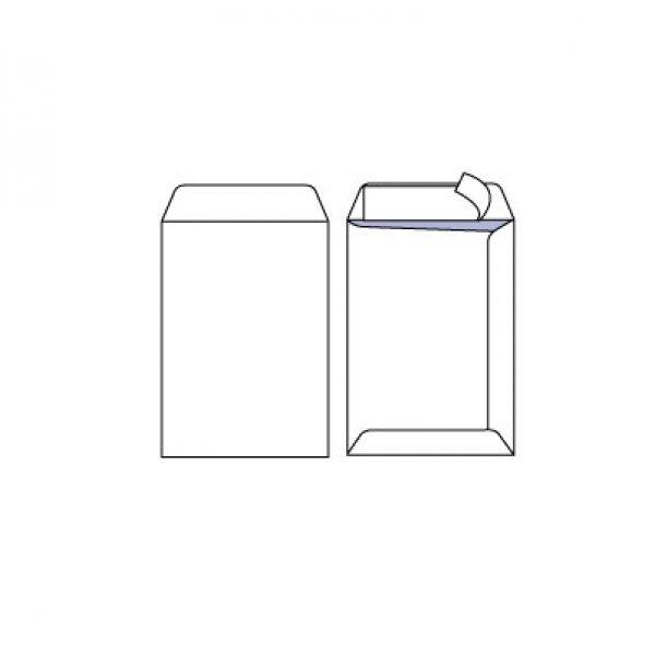 Плик бял C4 230x330 mm Вертикален Стикер 250 бр.