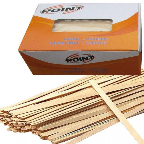 Бъркалки дървени Ekomax 11 cm 1000бр.