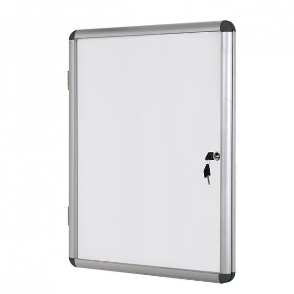 Инфо бяло магн. табло заключване Bi-Office 12xA4
