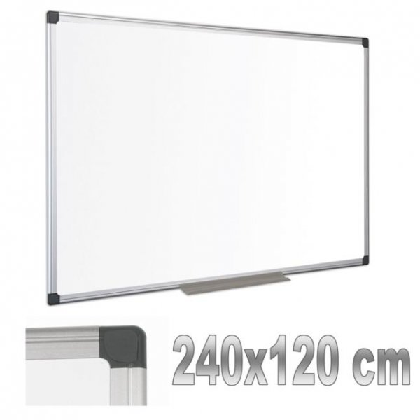 Магн бяла дъска с алум рамка Bi-Office 120x240cm