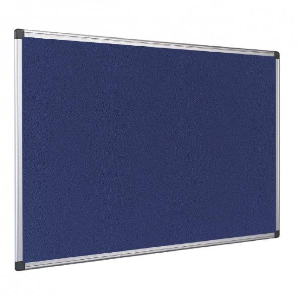 Корк дъска с алум.рам синьо покр.Earth-It 90x180