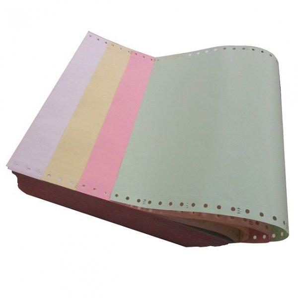 Безконечна принтерна хартия MBM 240/11/4 500 л. цветна