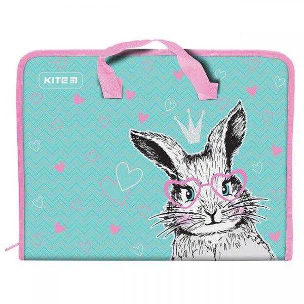 Папка PP с цип A4 Kite Cute Bunny