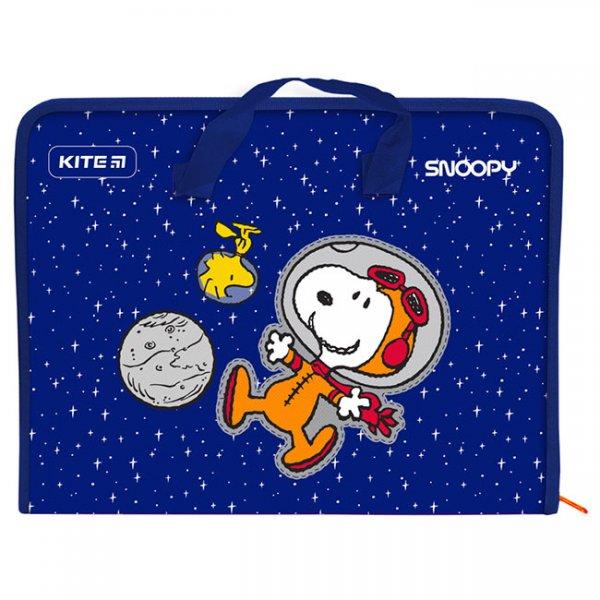 Папка PP с цип A4 Kite Peanuts Snoopy