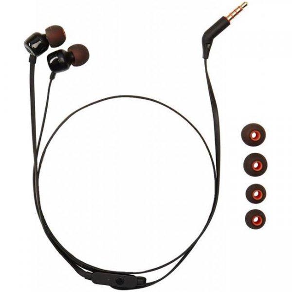 Слушалки JBL T110 In ear headphones Черни