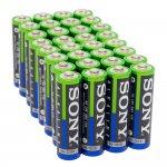 Алкална батерия SONY R06 AA