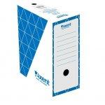 Архивна кутия картон Axent 350x255x150 mm Син