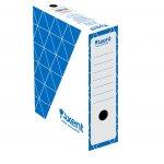 Архивна кутия картон Axent 350x255x100 mm Син