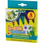 Маркери JOLLY X-BIG WINDOW за стъкло, 6 цвята
