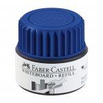 Faber-Castell Мастилница за маркер за бяла дъска Grip, 25 ml, синя
