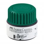 Faber-Castell Мастилница за маркер за бяла дъска Grip, 25 ml, зелена