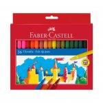 Faber-Castell Флумастери, 36 цвята