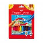 Faber-Castell флумастери Cushion 12 цвята