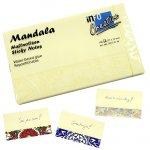 Самозалепващи листчета Info Notes MandalaЖълт 125х75mm 100 л