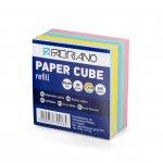 Fabriano Хартиено кубче, 83 x 83 mm, 80 g/m2, цветно, 360 листа