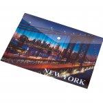 Panta Plast Папка New York Collection, PP, с копче, A5