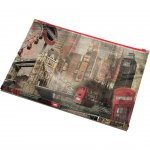Panta Plast Папка London Collection, PP, с цип, A4