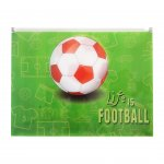 Panta Plast Папка Football Collection, PP, с цип, A4